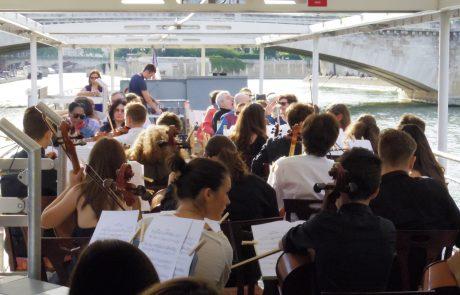 Orchestre de Bucarest sur la Seine