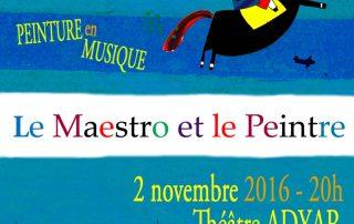 Le Maestro et le Peintre - flyer