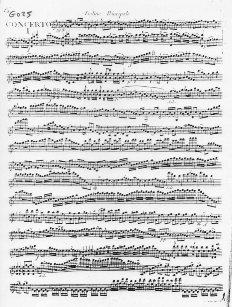 Concerto en Sol Majeur (G Major) G.025