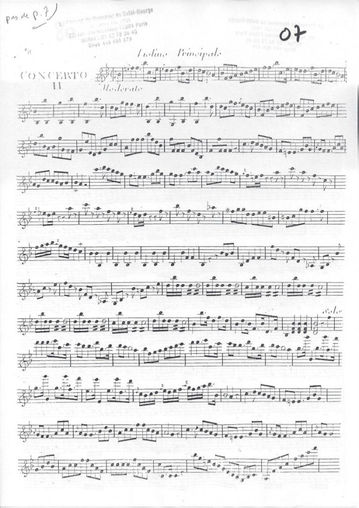 Concerto en Si bémol Majeur (B flat Major) G.040
