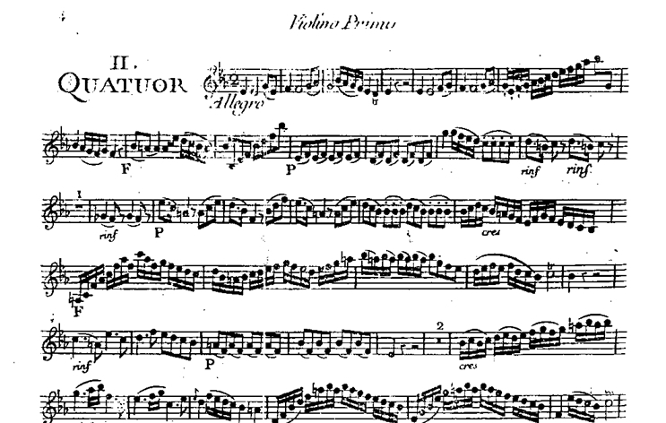 Quatuor en Do mineur (C minor) G.003