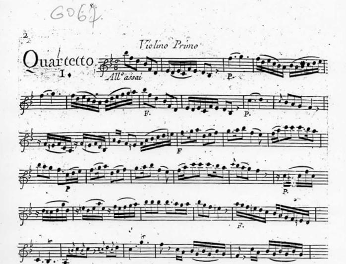 Quatuor en Si bémol Majeur (B flat Major) G.067