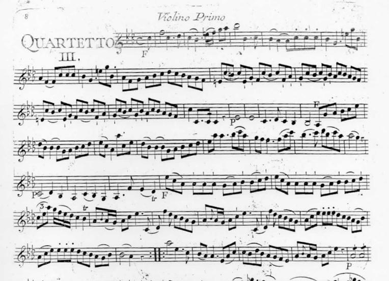Quatuor en Fa mineur (F minor) G.193
