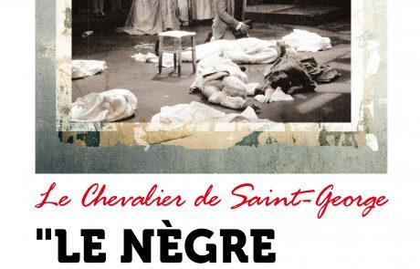 Le Nègre des Lumières affiche Guadeloupe