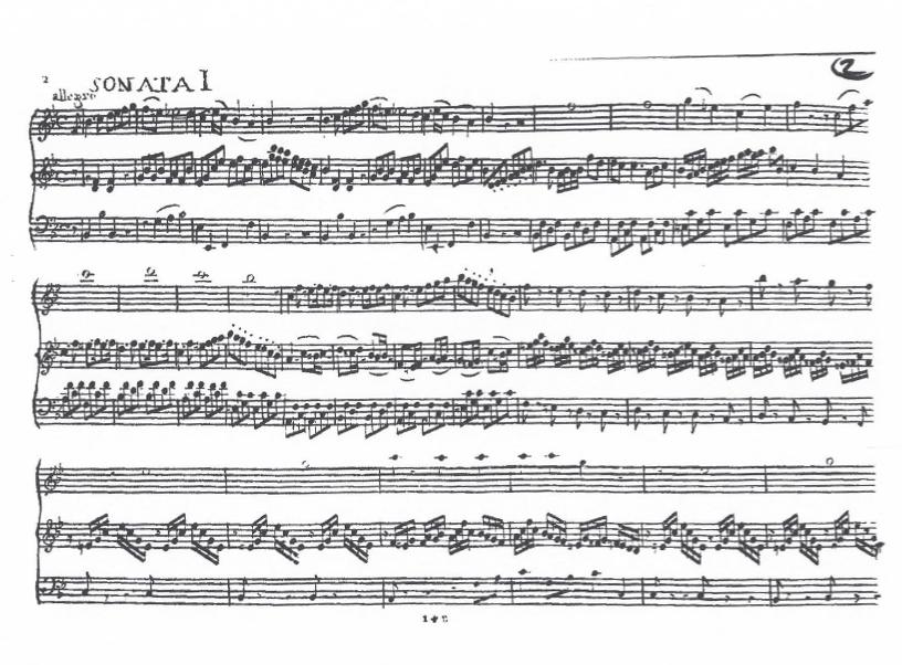 Sonate pour Harpe en Si bémol Majeur (B flat Major) G.076