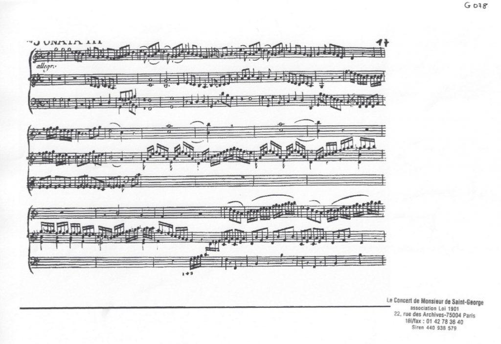Sonate pour clavecin (harpsichord) en Sol mineur (G minor) G.078